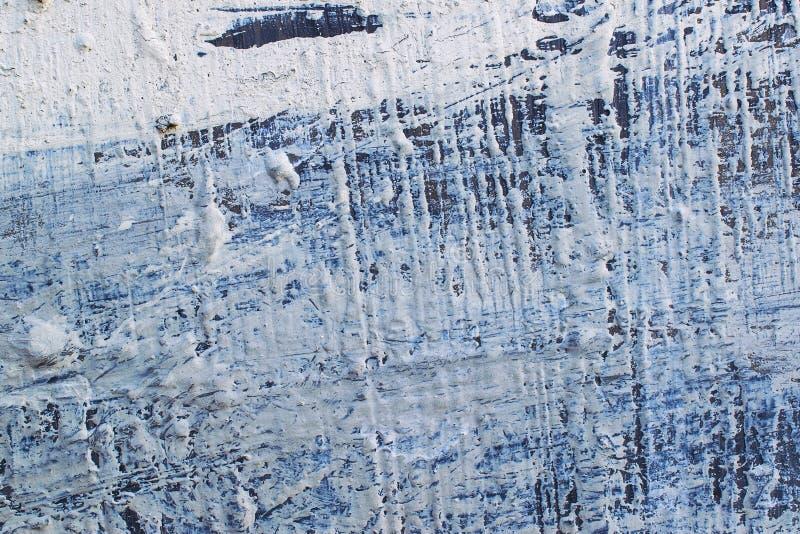 Geschilderde blauwe metaaltextuur stock afbeelding