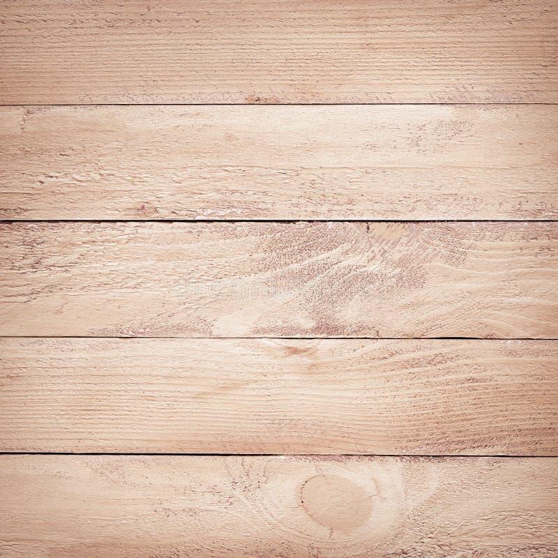 Geschilderde bruine houten plankentextuur stock afbeelding