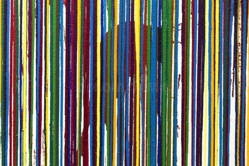 Geschilderde de textuurachtergrond van het canvasdetail stock foto
