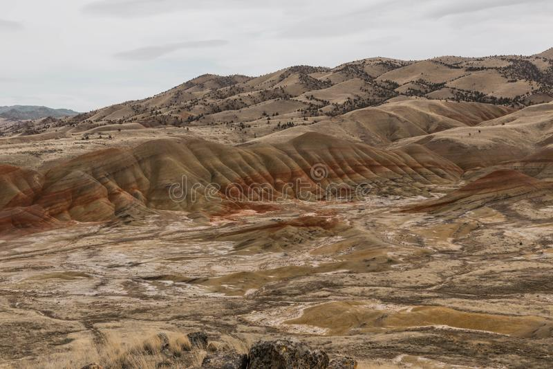 Geschilderde Heuvels Oregon stock foto's