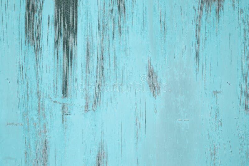 Geschilderde ijzeroppervlakte met een groot roestige en metaalcorrosie stock afbeeldingen