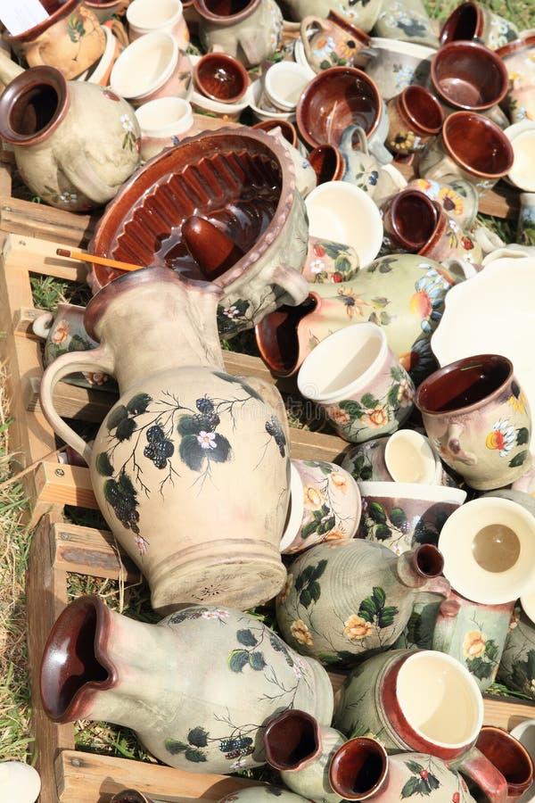Download Geschilderde keramiek stock afbeelding. Afbeelding bestaande uit geschiedenis - 54078311