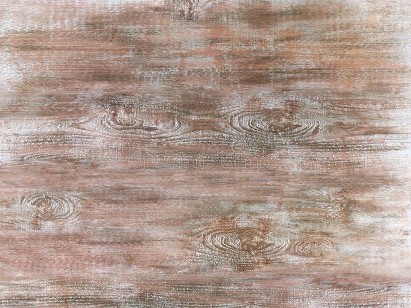 Geschilderde lichtbruine houten oppervlakte royalty-vrije stock afbeelding