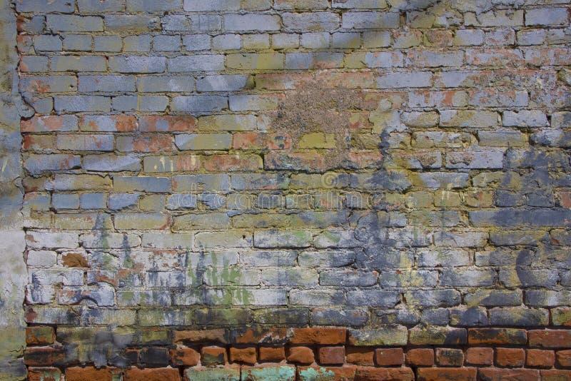 Geschilderde Muur stock fotografie