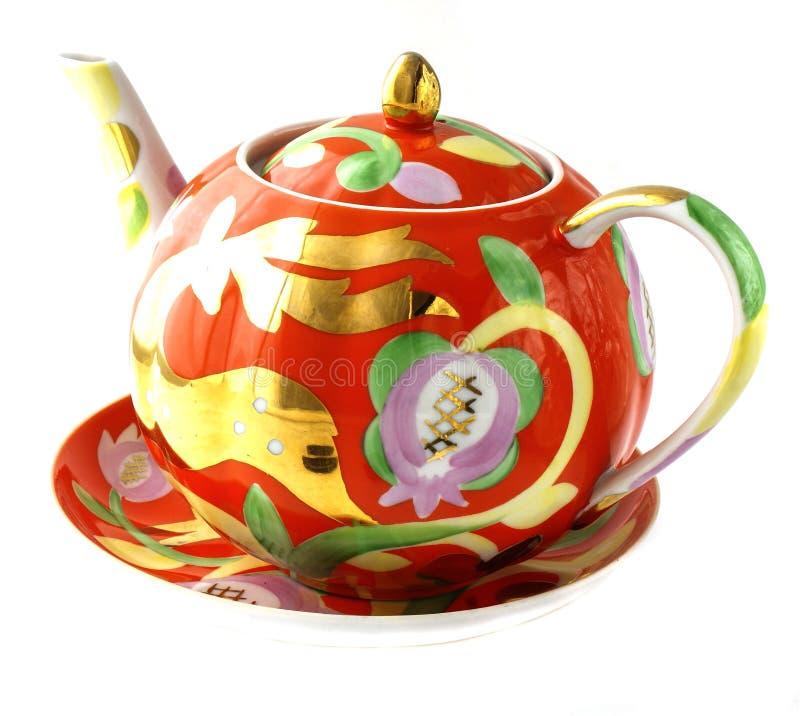 Geschirr für Tee, Schale, Untertasse lizenzfreie stockfotografie
