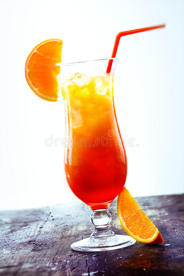 Geschlecht auf dem Strand Cocktail stockbild