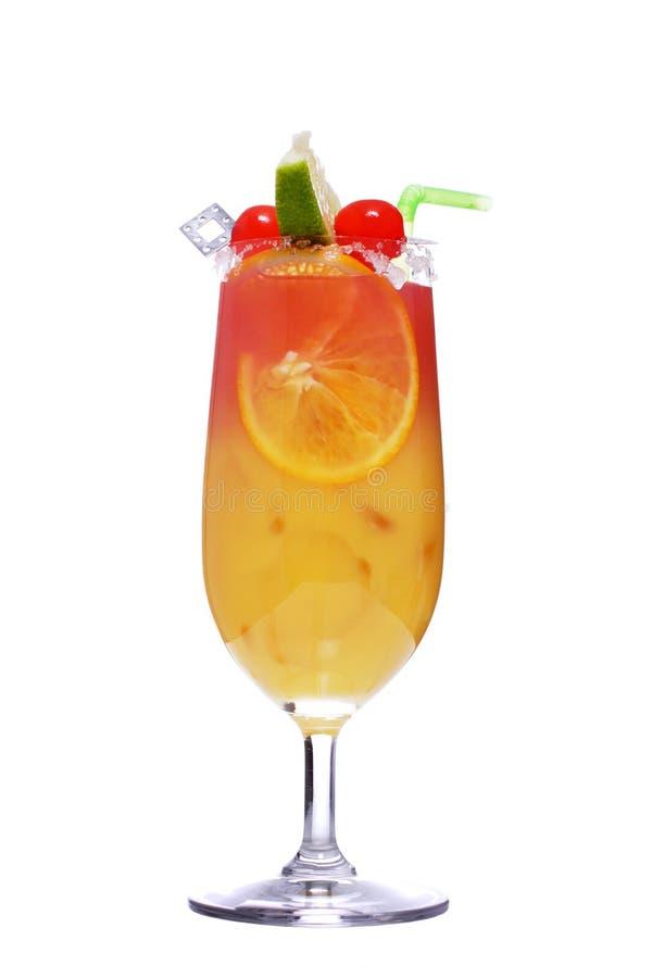 Geschlecht auf dem Strand, Cocktail lizenzfreies stockfoto