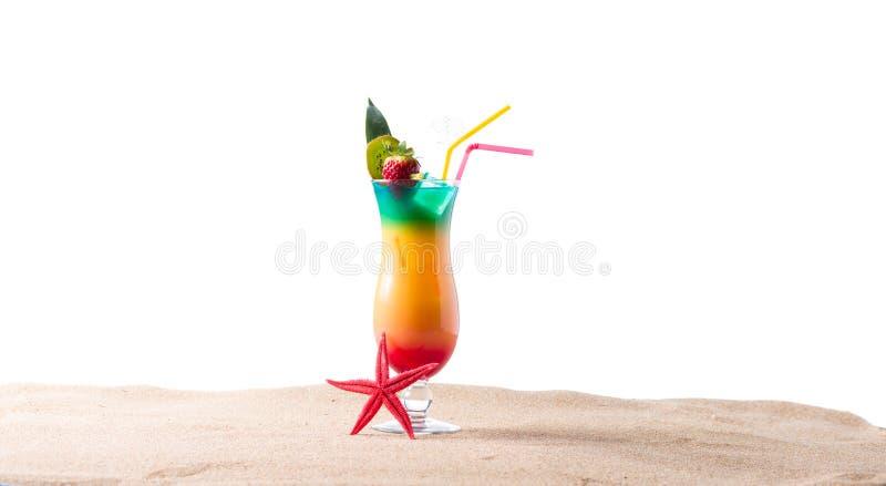 Geschlecht auf dem Strandcocktail stockfotografie