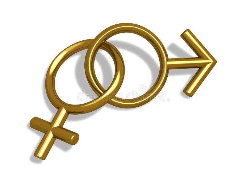 Geschlechter vektor abbildung