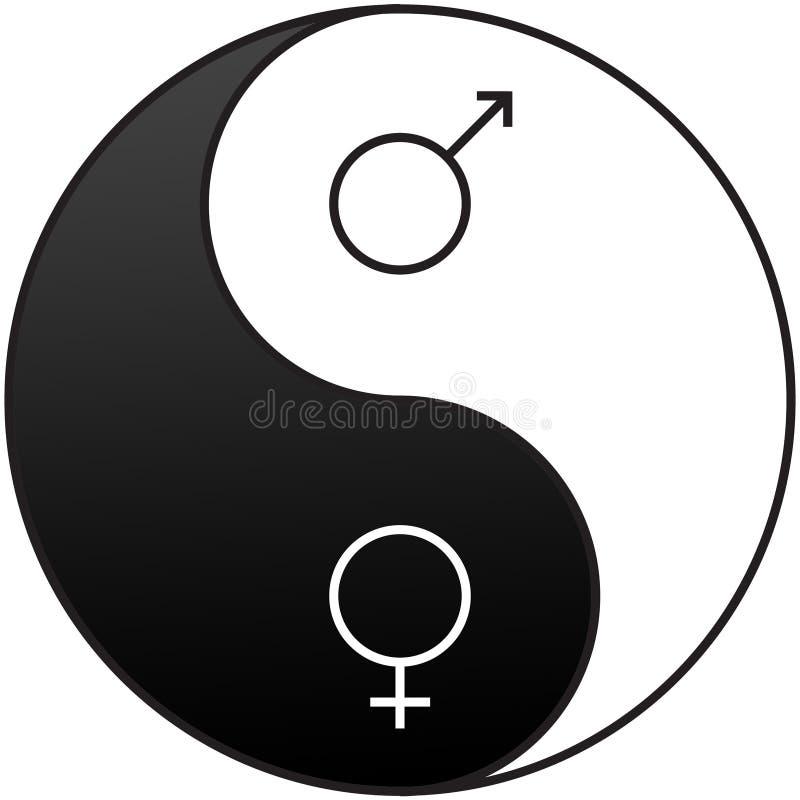 Geschlechts-Symbole stock abbildung