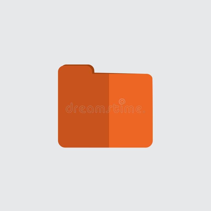 Geschlossene Faltblattikone stockbild