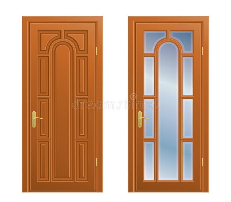 Geschlossene tür  Geschlossene Tür Stockfotos - Bild: 17518183