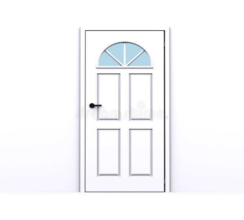 Geschlossene tür  Geschlossene Tür Auf Einem Weißen Hintergrund Redaktionelles ...