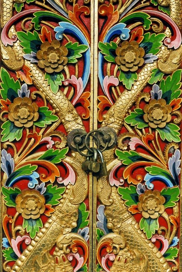 Geschlossene Türen stockfoto
