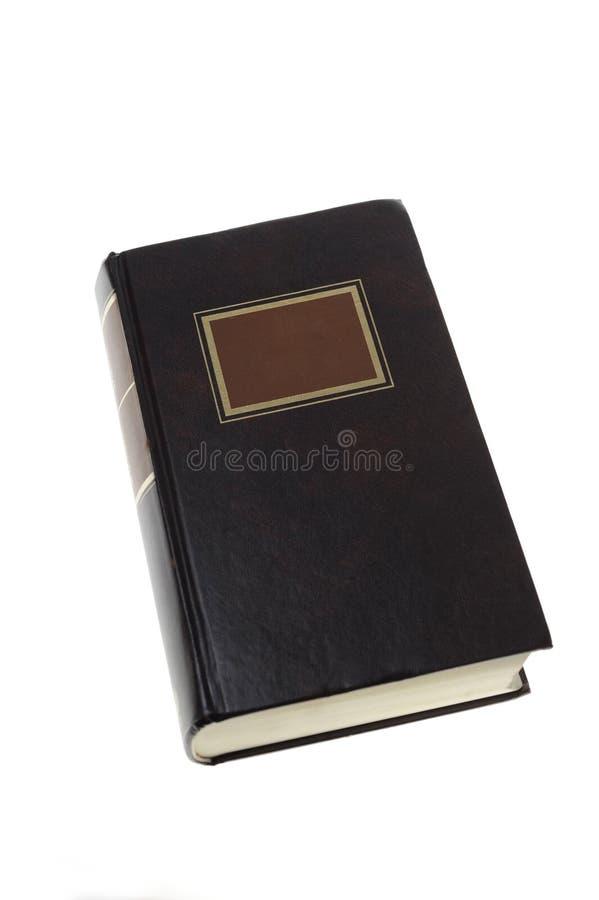 Geschlossenes altes Buch lizenzfreies stockbild