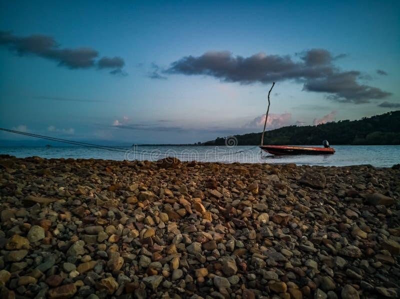 Geschmücktes Boot stockfotografie