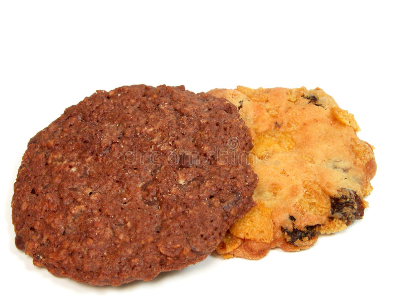 Geschmackvolle Biskuite lizenzfreies stockfoto