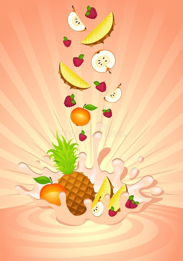 Geschmackvolle Frucht im Joghurt