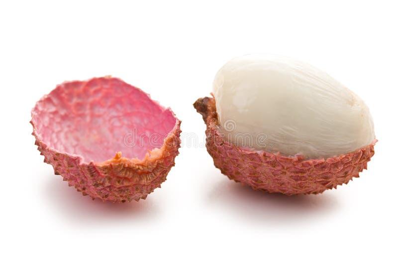 Geschmackvolle Litschifrucht stockbild
