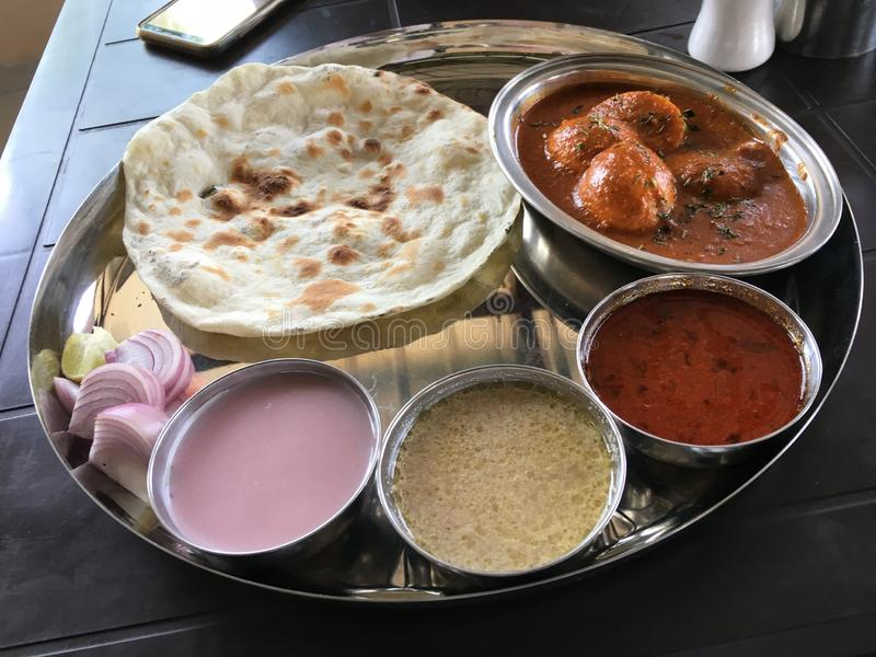 Geschmackvolle Nahrung im Maharashtra stockfotografie