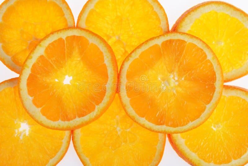 Geschmackvolle Orange stockbild