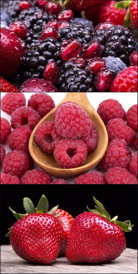 Geschmackvolle Sommerfrüchte auf einem Holztisch lizenzfreie stockfotografie