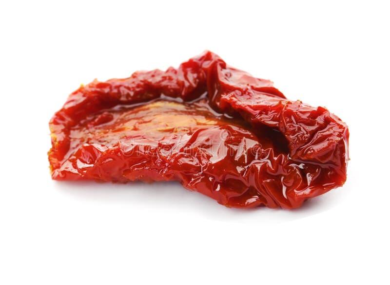 Geschmackvolle sonnengetrocknete Tomate lizenzfreies stockfoto