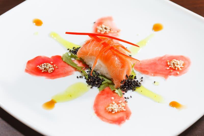 Geschmackvolle Sushi lizenzfreies stockfoto