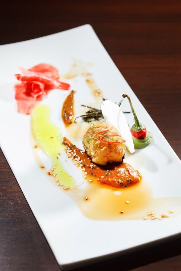 Geschmackvolle Sushi lizenzfreie stockfotografie