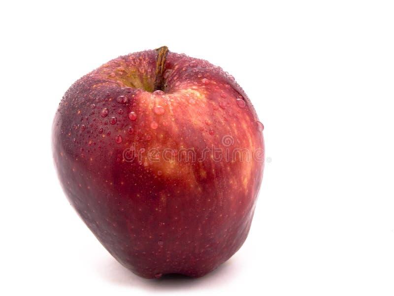 Geschmackvoller roter Apfel lizenzfreies stockfoto