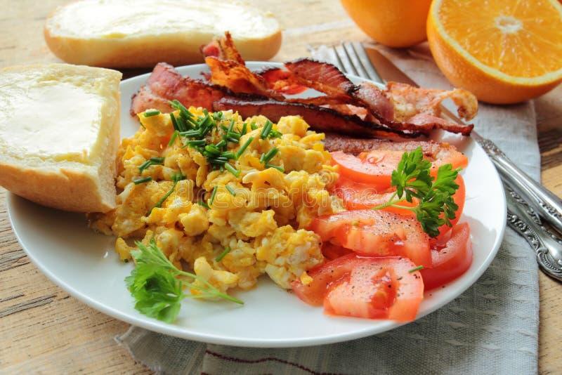 Geschmackvolles Frühstück stockfotos