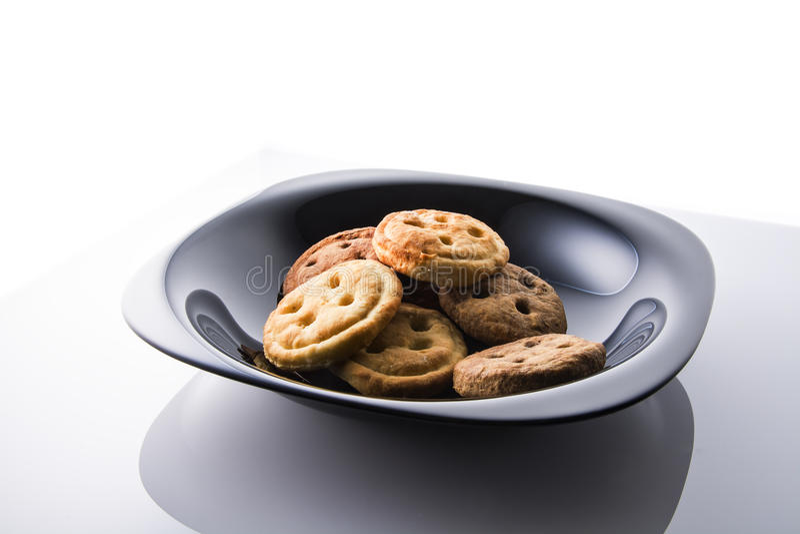 Geschmackvolles Frühstück des Kekses lizenzfreie stockfotografie