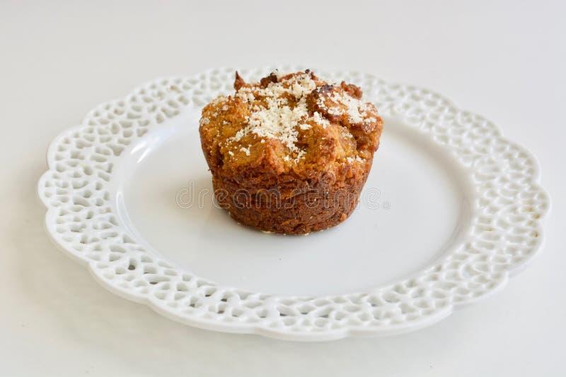Geschmackvolles Karottenmuffin stockfotos