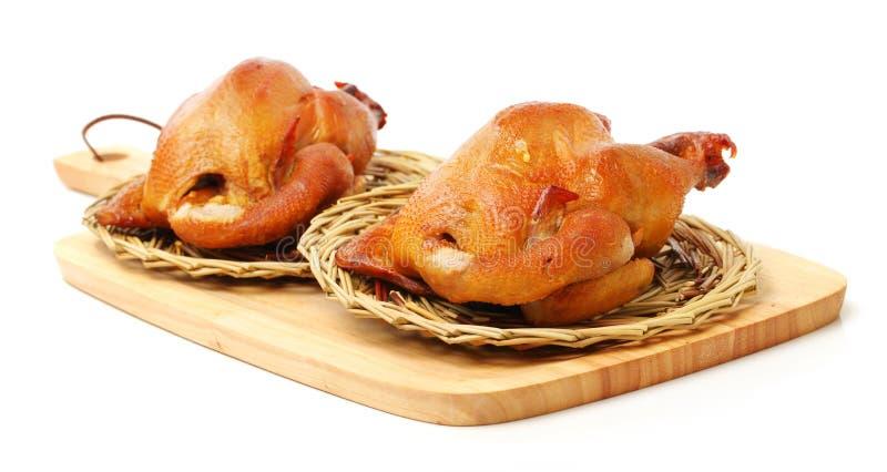 Geschmackvolles knusperiges Huhn des Braten-Chicken lizenzfreies stockfoto