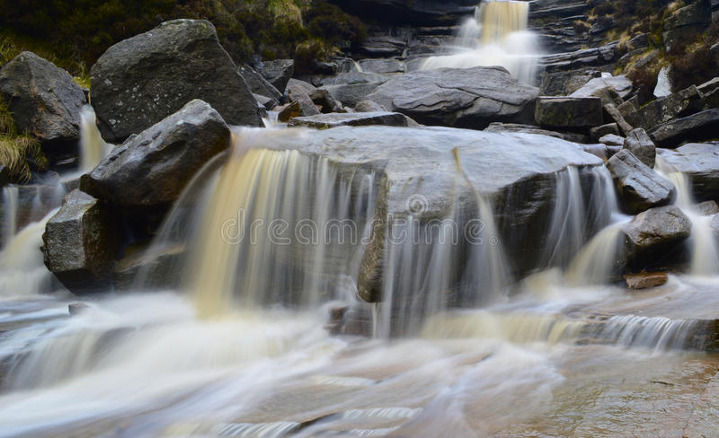 Geschmiedet durch Wasser stockfotos