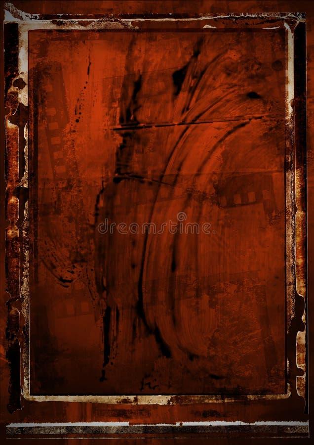 Geschmierte Film-Emulsion lizenzfreie stockfotografie