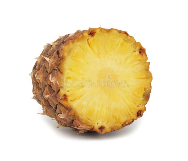 Geschnittene Ananas, getrennt lizenzfreies stockfoto