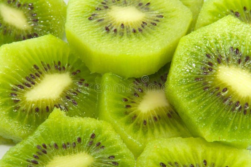 Geschnittene Kiwi-Frucht lizenzfreie stockbilder
