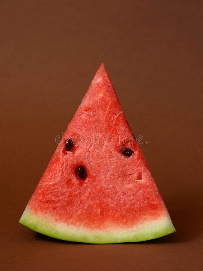 Geschnittene reife Wassermelone lizenzfreies stockfoto