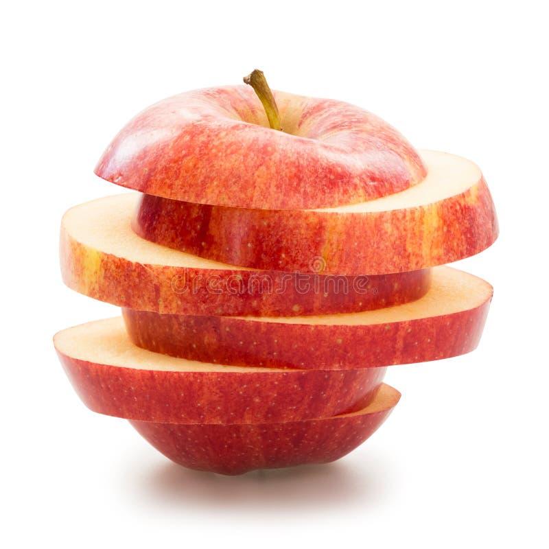 Geschnittener Apple stockbilder
