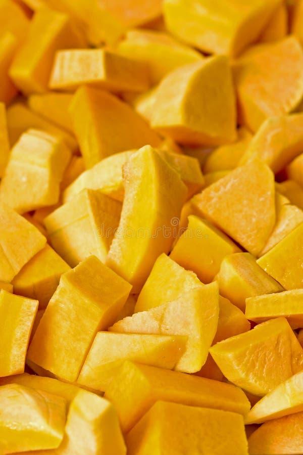 Geschnittener frischer Butternut lizenzfreies stockfoto