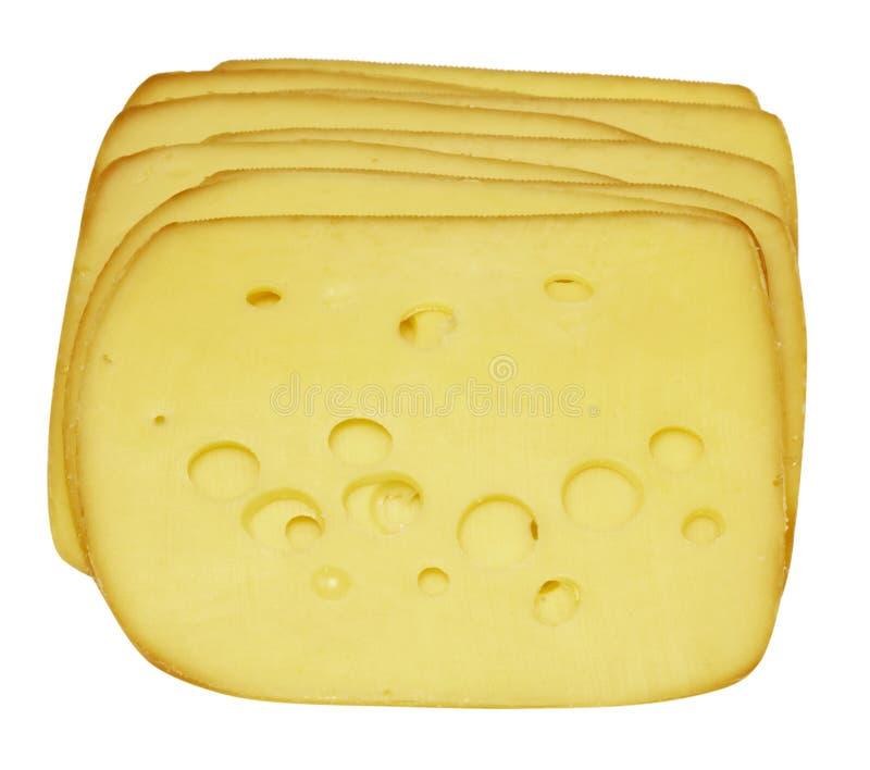 Geschnittener Käse lizenzfreie stockfotos