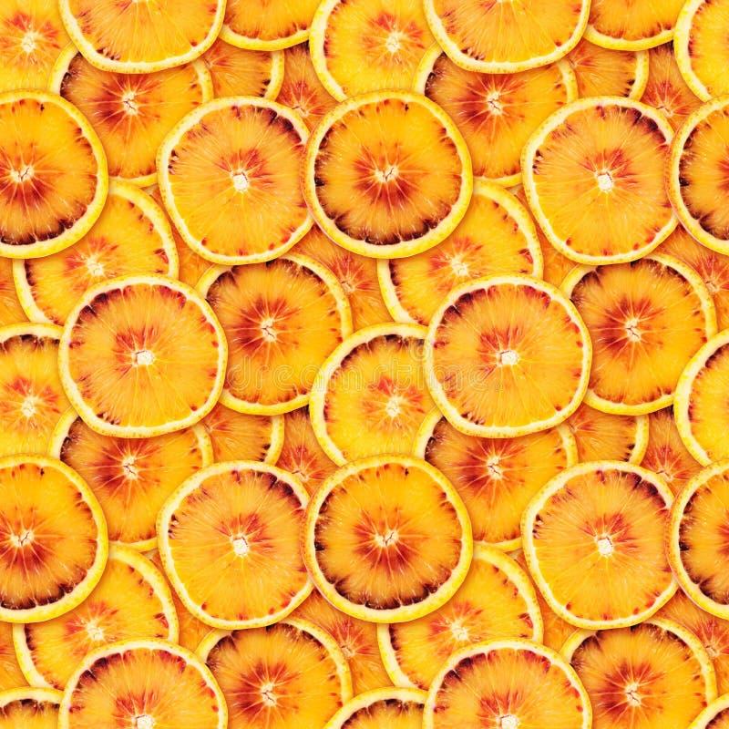 Geschnittener orange nahtloser Hintergrund lizenzfreie stockfotografie