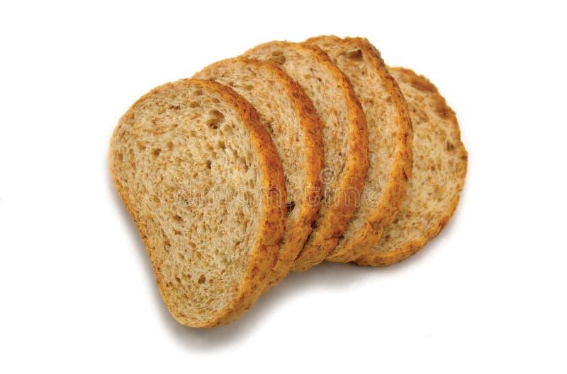 Geschnittenes Brot rechts lizenzfreie stockfotos