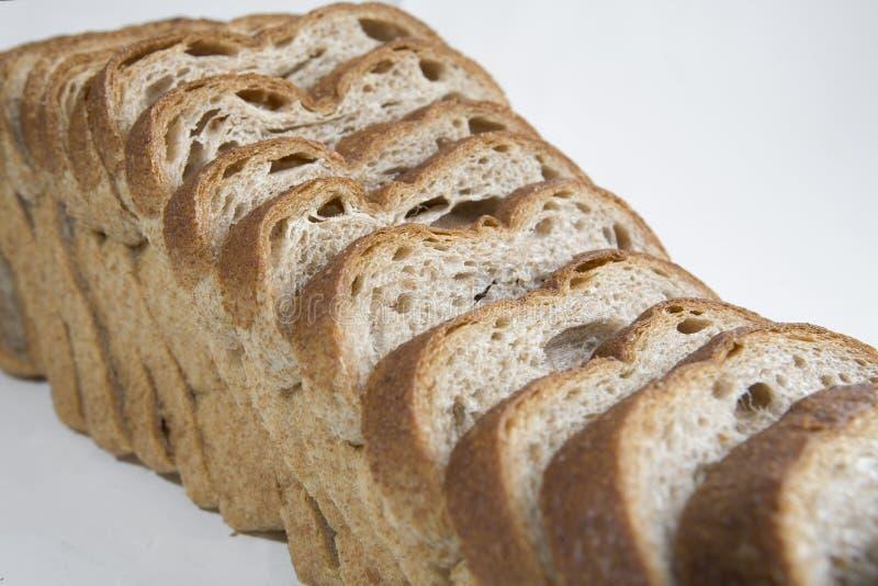 Geschnittenes Laib des Brotes lizenzfreie stockfotos