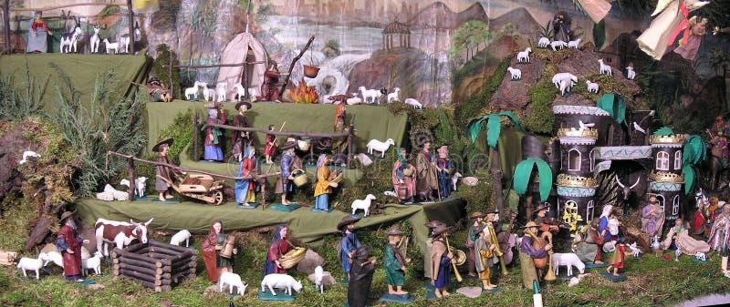 Geschnitztes Bethlehem lizenzfreies stockbild