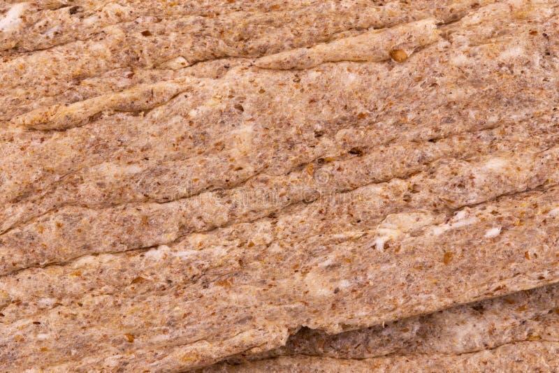 Geschossener Makrohintergrund Matzo ungesäuertes Brot der Zusammenfassungsbeschaffenheit am aus nächster Nähe lizenzfreies stockfoto
