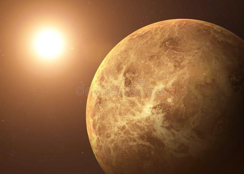 Geschoten die van Venus uit open plek wordt genomen collage stock foto