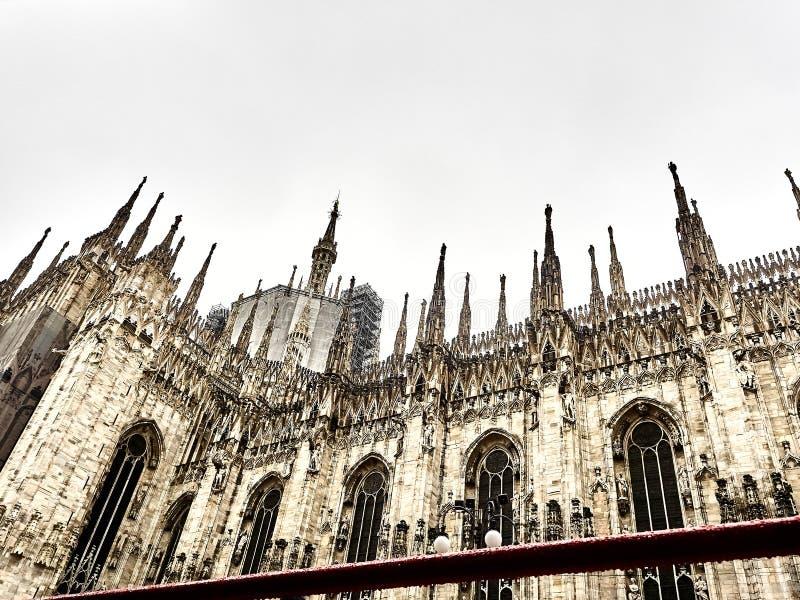 Geschoten van de Koepel van Milaan royalty-vrije stock fotografie