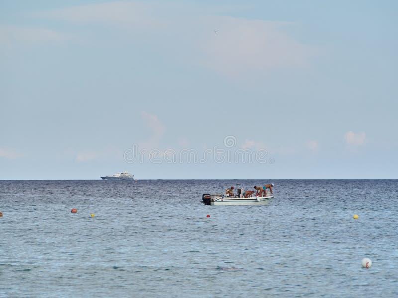 Geschoten van het mooie strand van San Lorenzo royalty-vrije stock foto's
